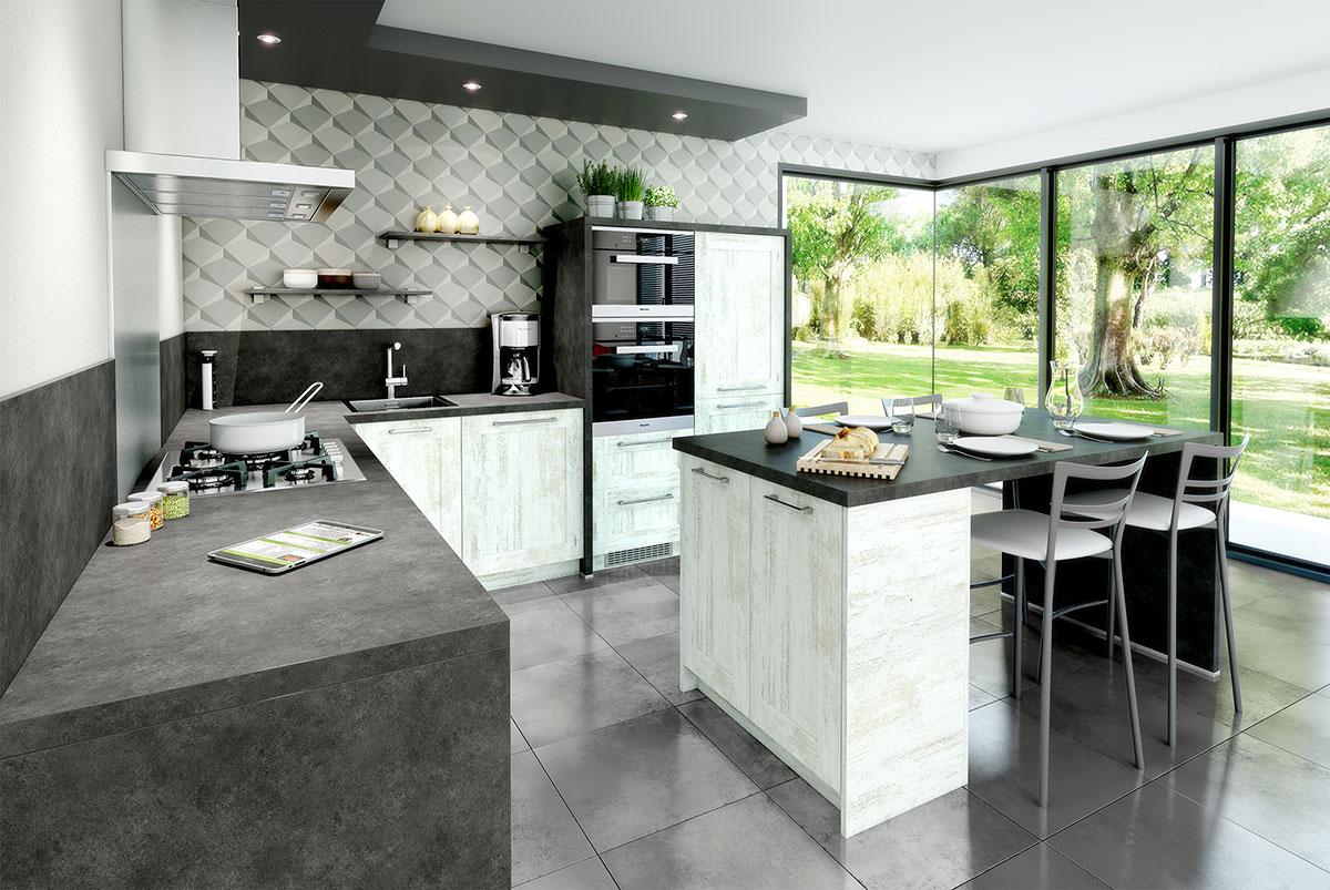 Cuisine - Pose de Carrelage et installation de cuisine et salle de bain