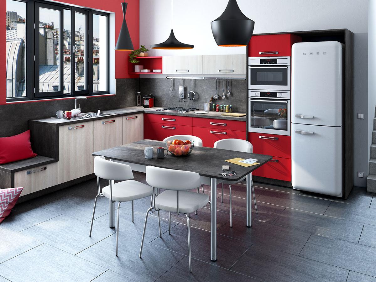 Cuisine pose de carrelage et installation de cuisine et for Carrelage cuisine salle de bain